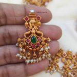 Beautiful Guttapusalu Necklace (2)