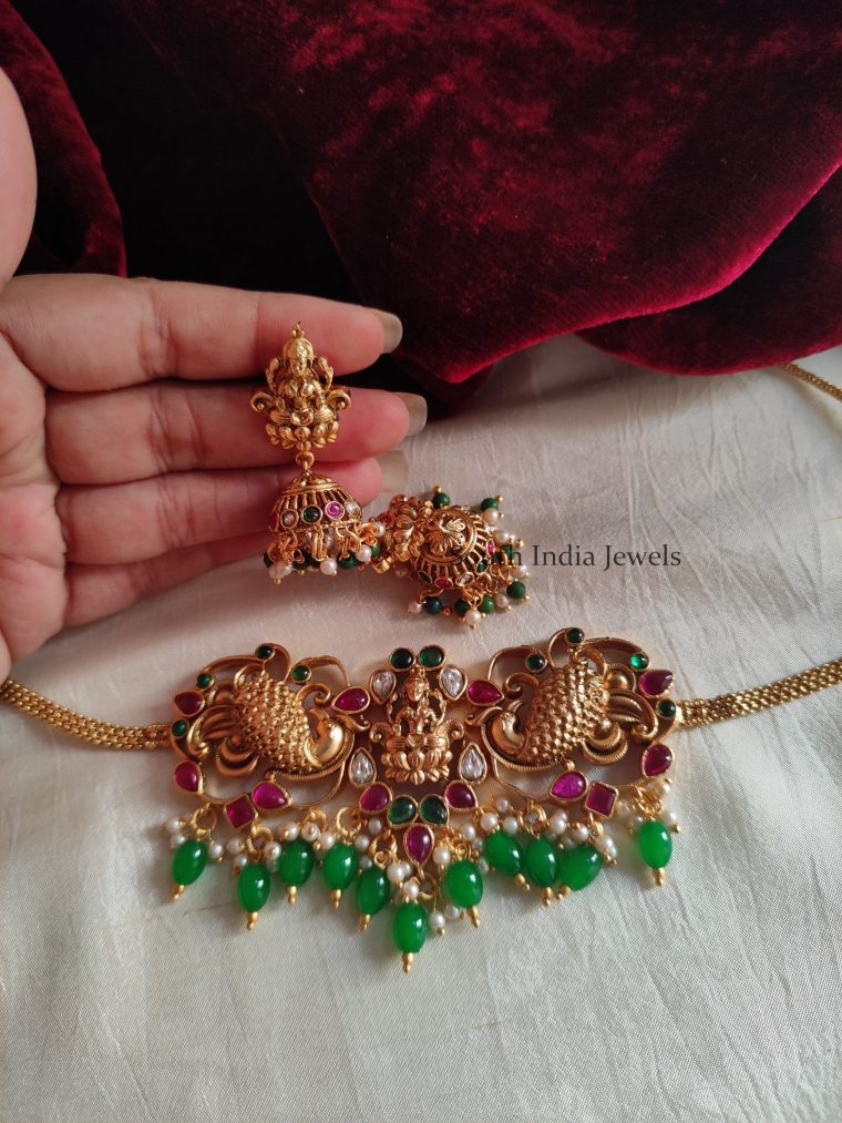 Beautiful Lakshmi Design Choker