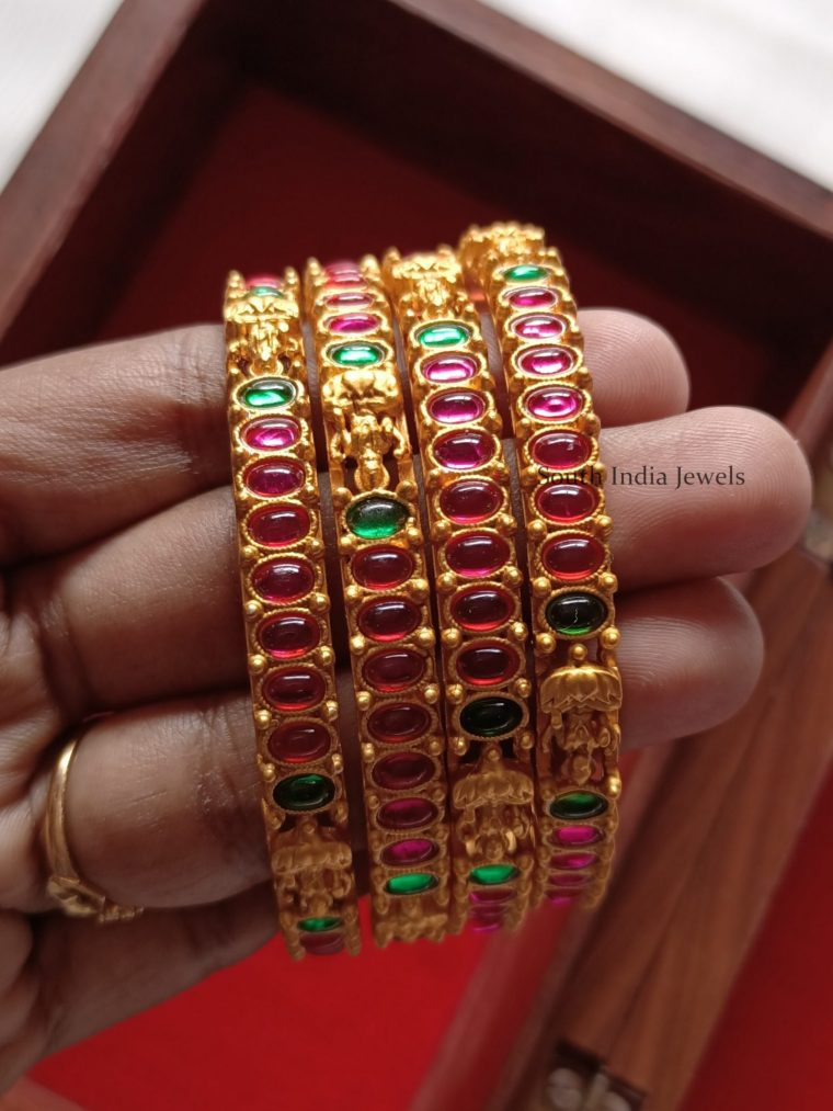 Beautiful Lakshmi Kemp Bangles