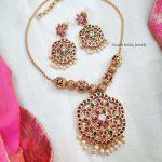 Classic Kemp Stone Pendant Necklace
