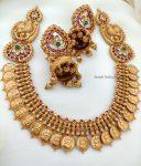 Classic Lakshmi Coin Necklace (2)