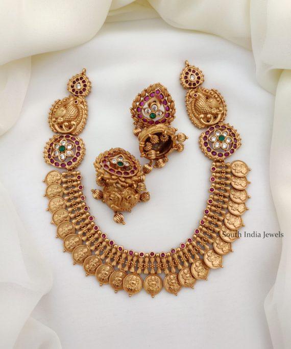 Classic Lakshmi Coin Necklace (3)