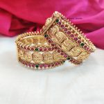 Elegant Lakshmi Coin Bangles (2)