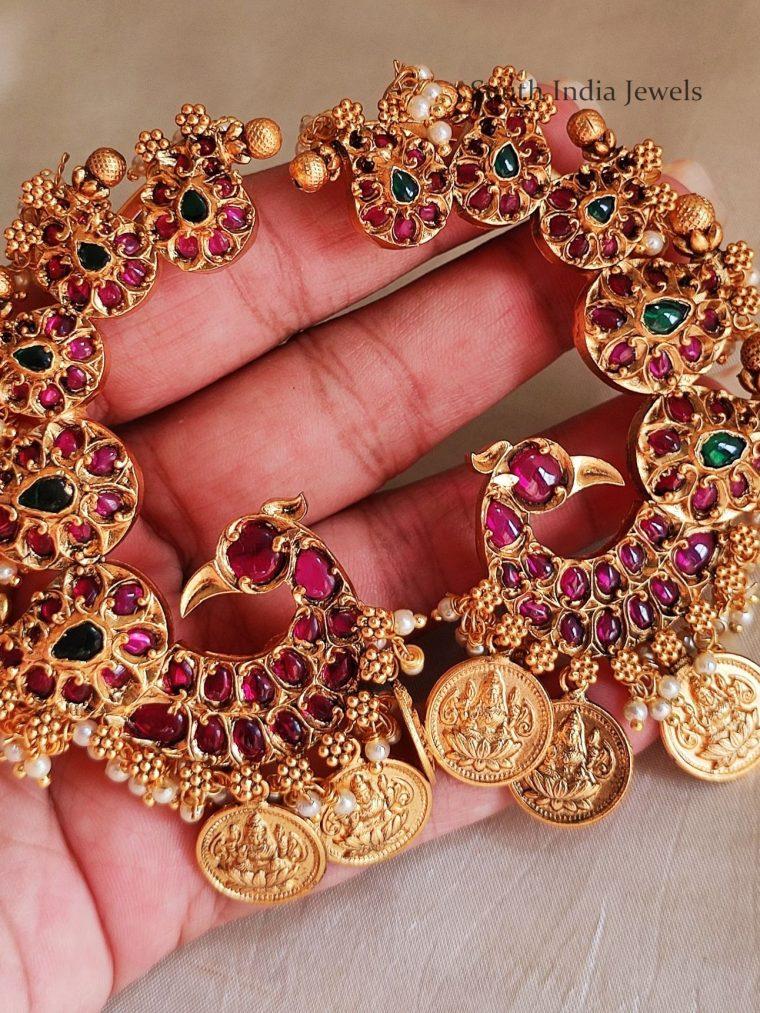 Elegant Lakshmi Kasu Earrings
