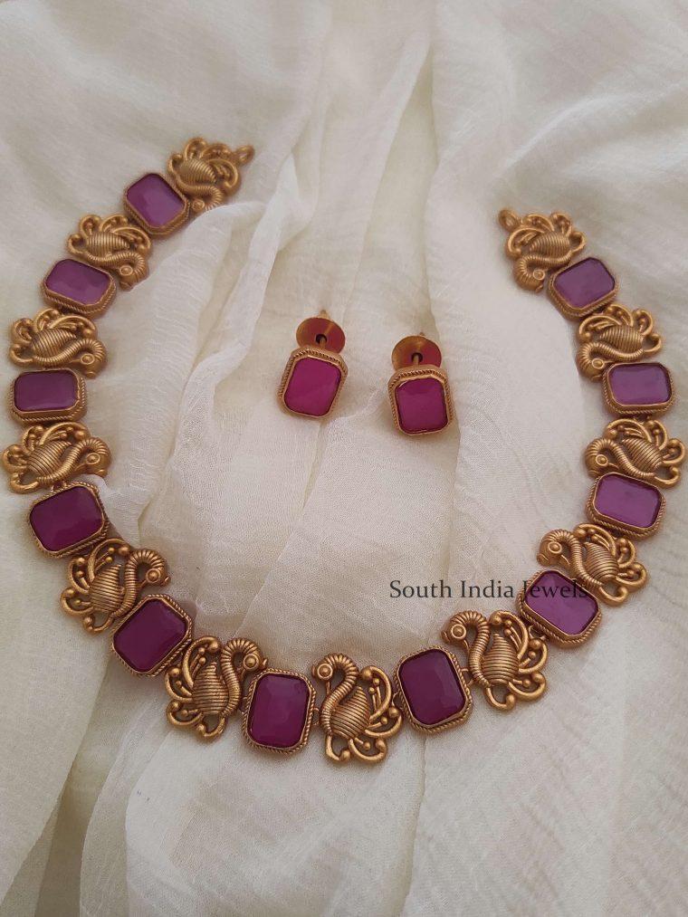 Fancy Bird Design Necklace
