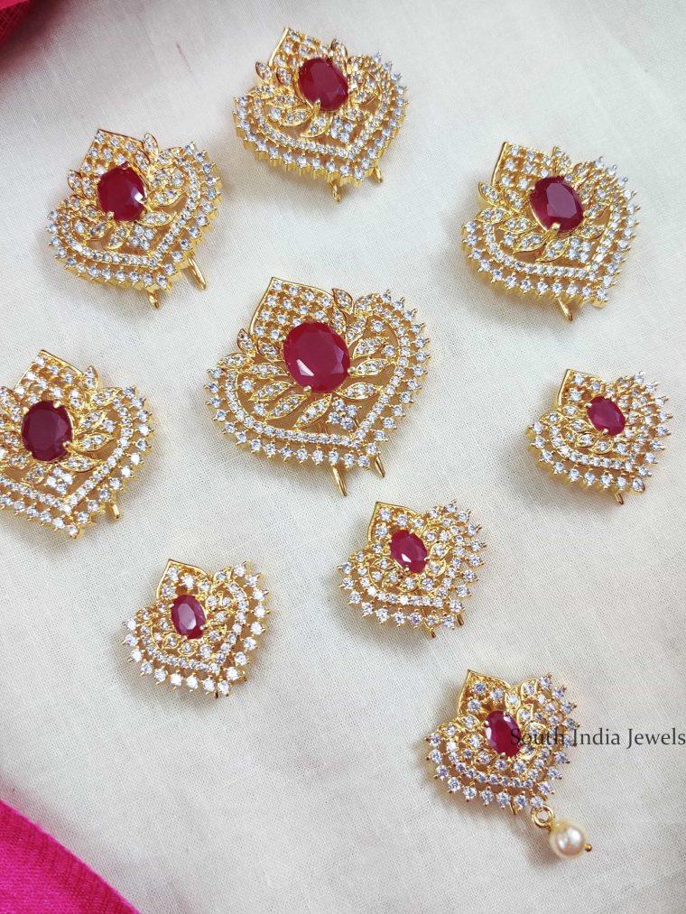 Grand AD Pink Stone Jada Billa