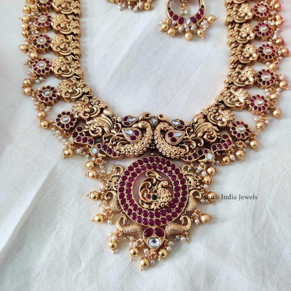 Grand Peacock Design Bridal Haram