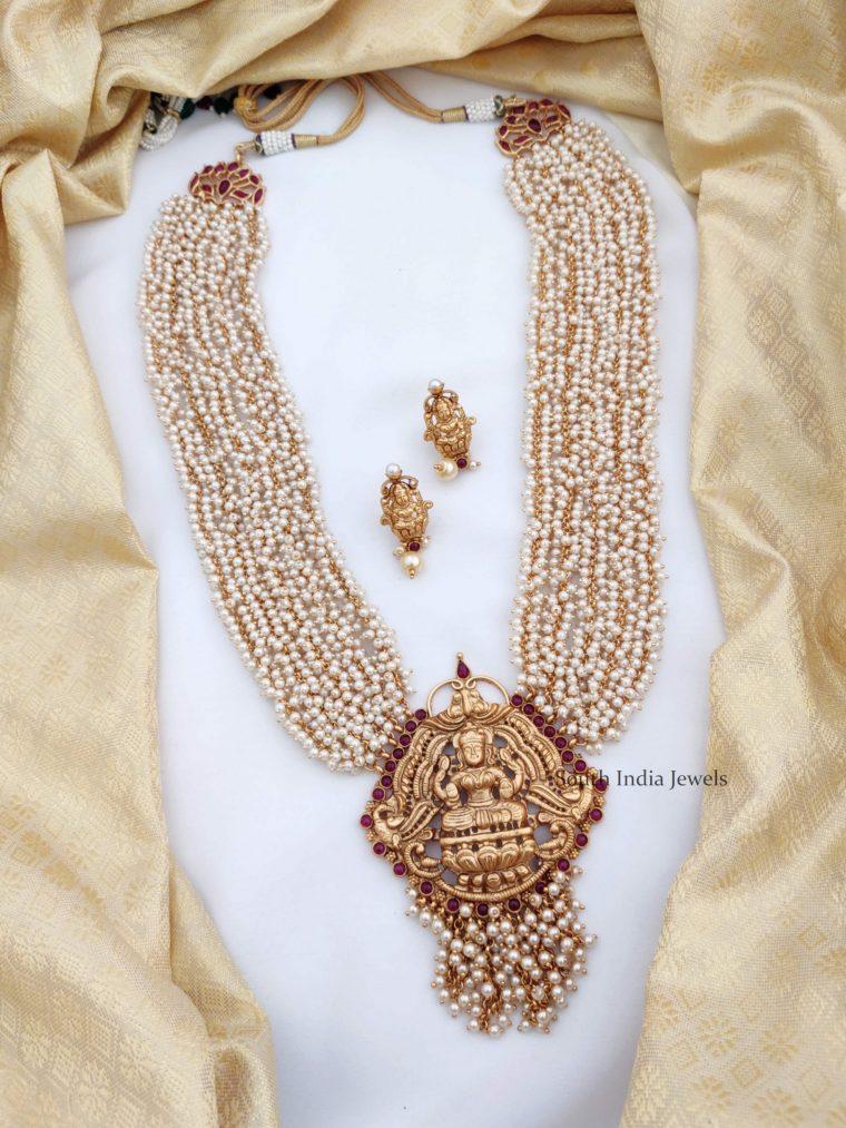Grand Pearl Layered Haram (2)