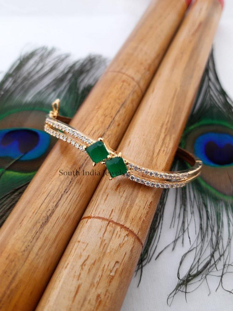 Pretty CZ Stone Bracelet