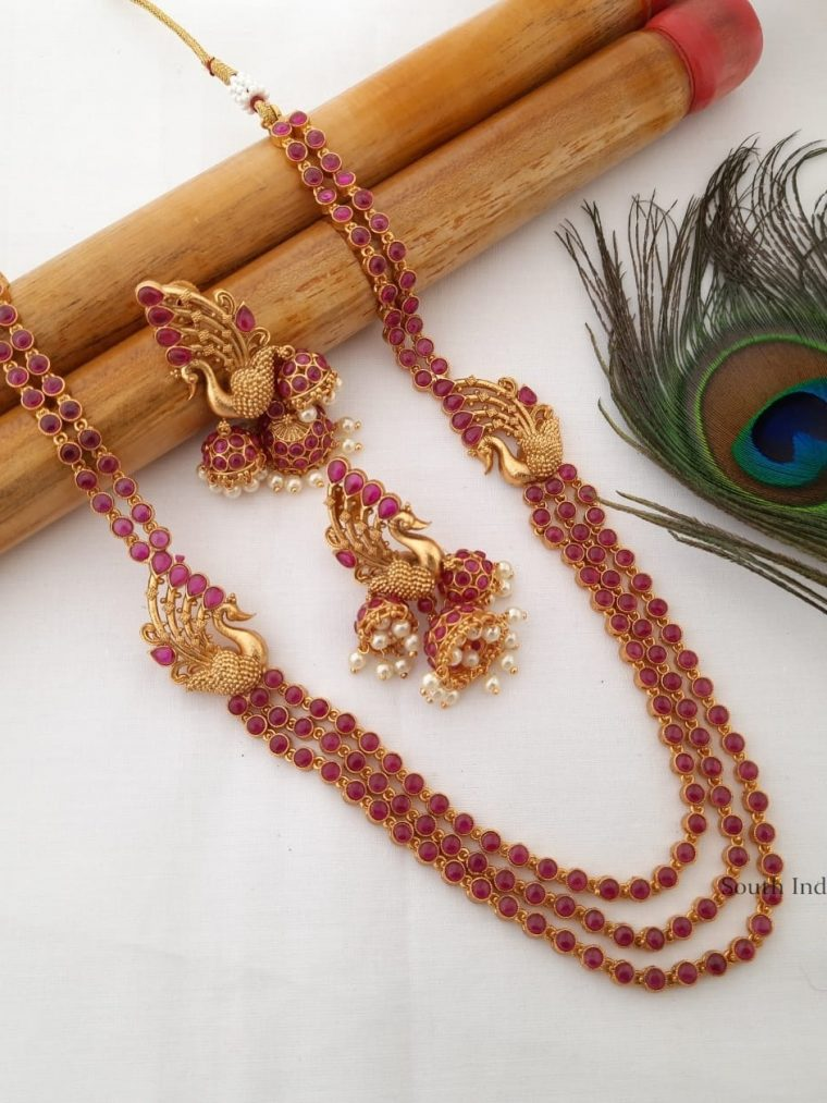 Pretty Kemp Stone Layered Necklace
