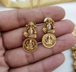Traditional Ganesh & Lakshmi Coin Necklace