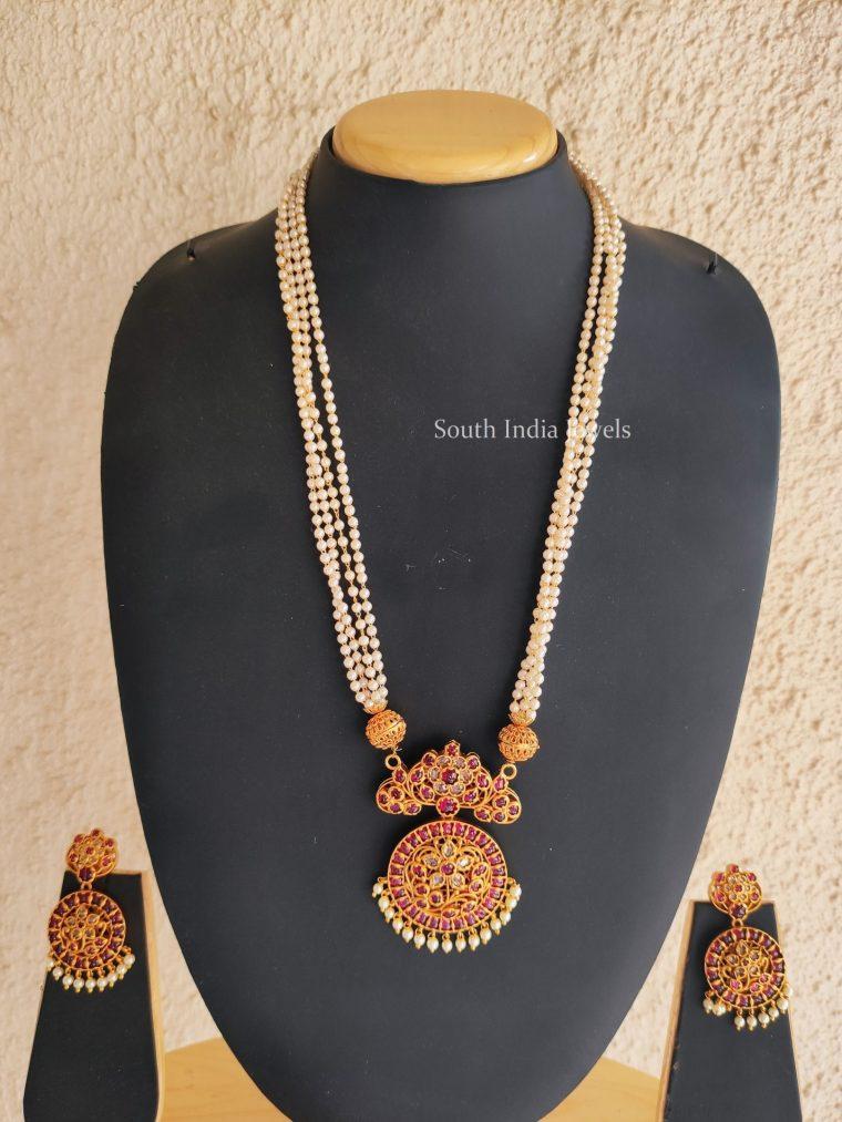 Traditional Kemp Pendant Pearl Haram