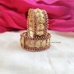 Traditional Lakshmi Coin Bangles