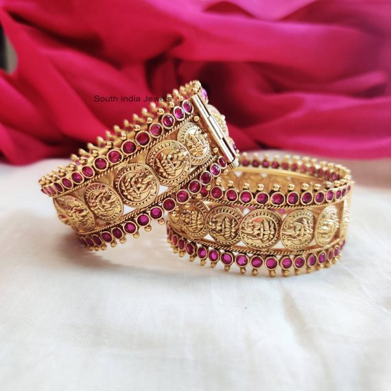 Traditional Lakshmi Coin Bangles (2)