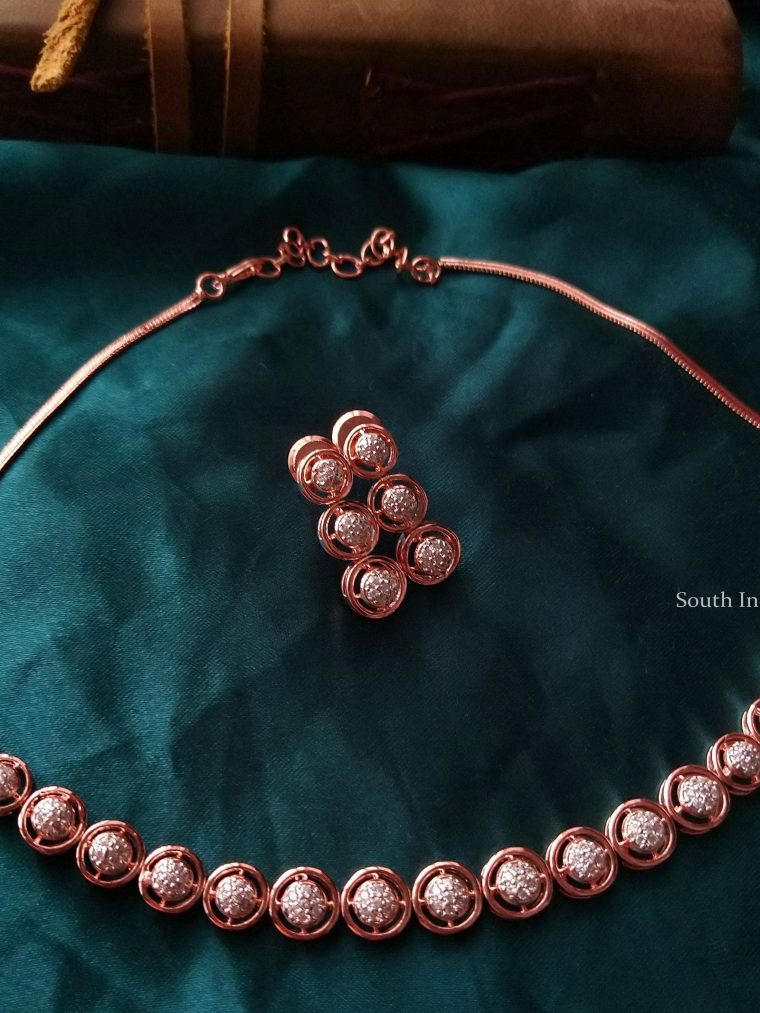 Traditional Rose Gold Choker