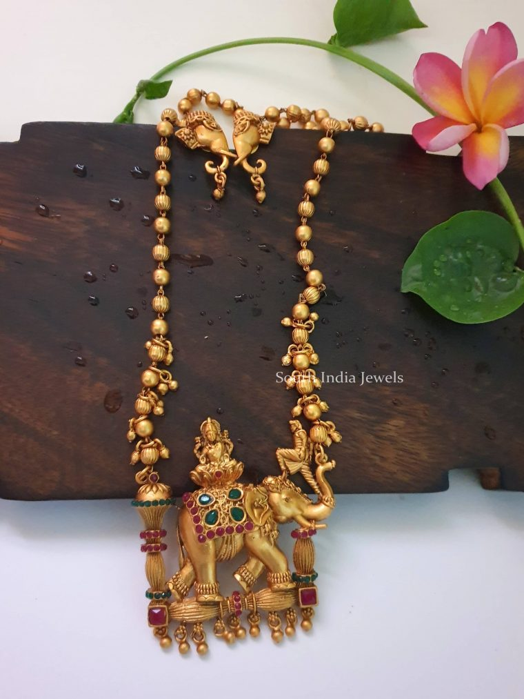 Unique Bahubali Pendant Necklace