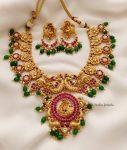 Amazing Peacock Design Necklace (2)