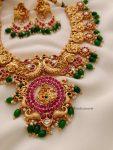 Amazing Peacock Design Necklace (3)