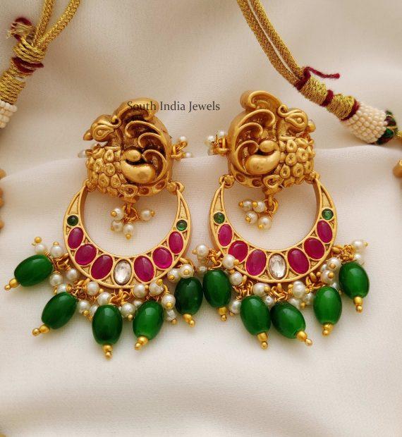 Amazing Peacock Design Necklace