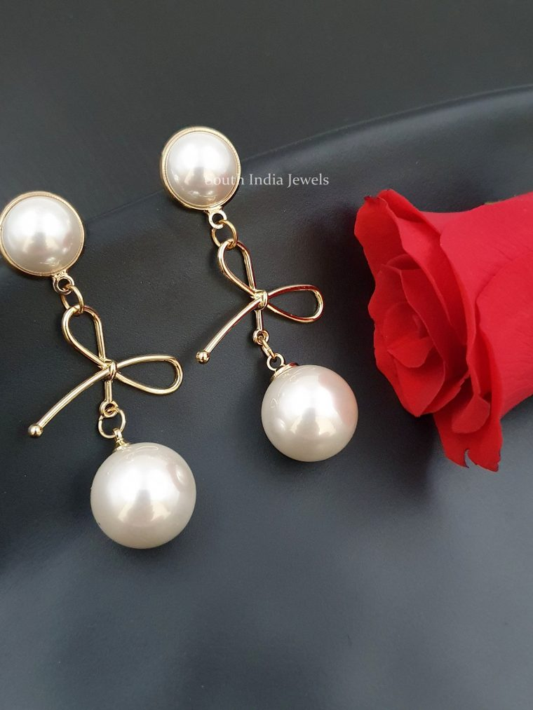 Amazing Pearl Dangler Earrings