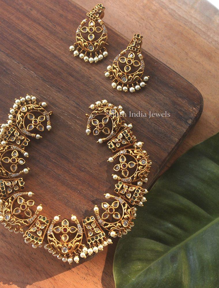 Beautiful Chand Design Choker (2)