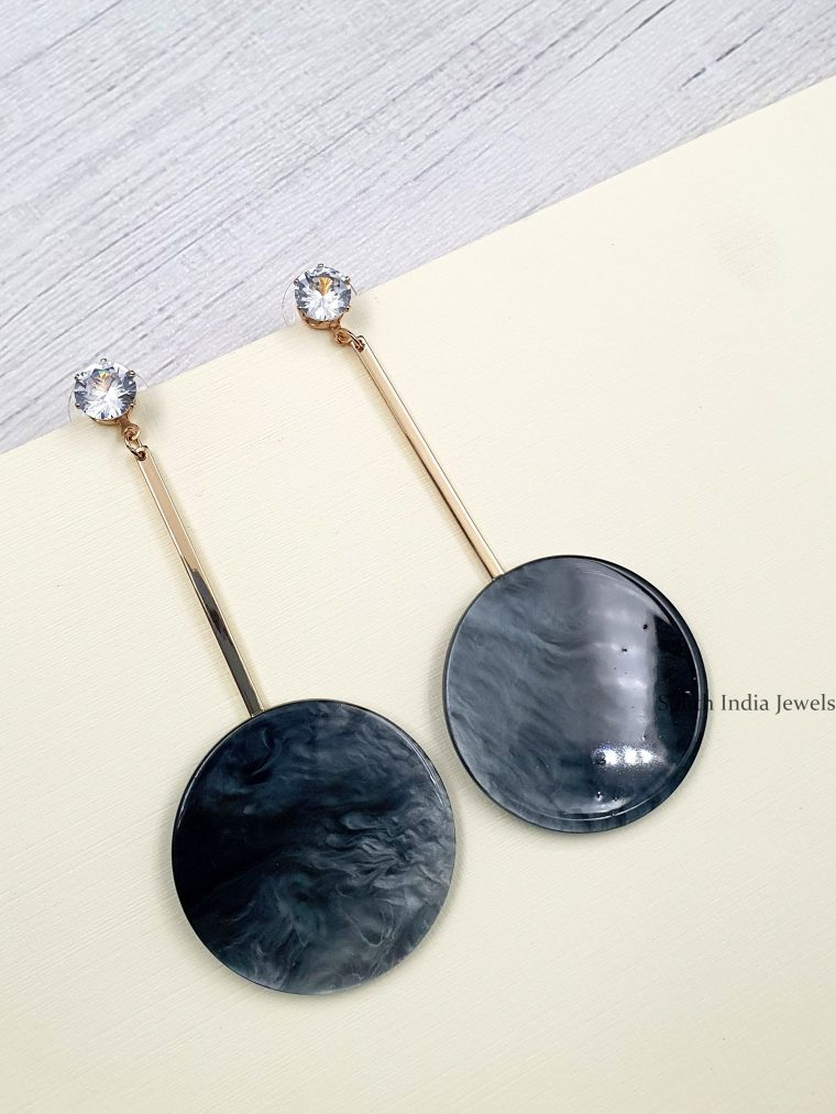 Beautiful Circle Dangler Earrings (3)