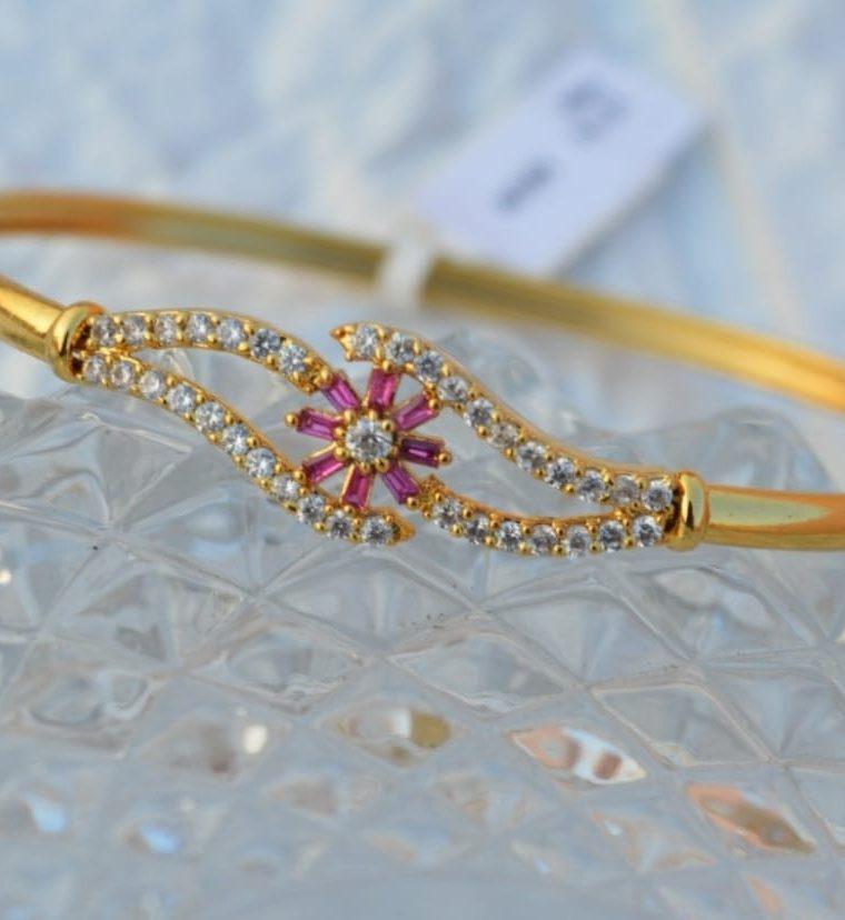 Beautiful Flower Design Bracelet