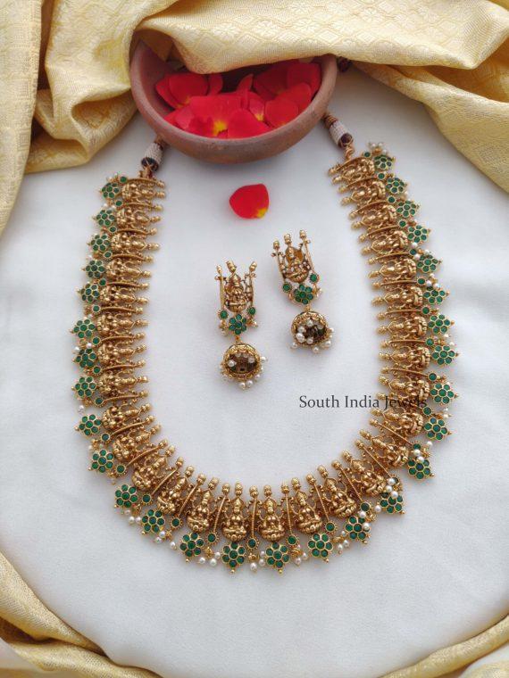 Beautiful Flower Design Lakshmi Haram