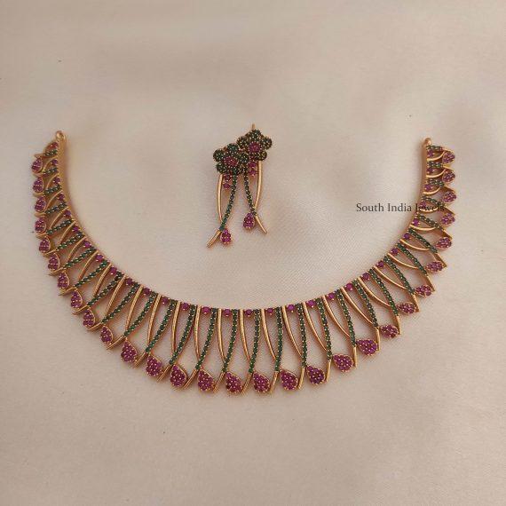 Beautiful Mallu Style Necklace