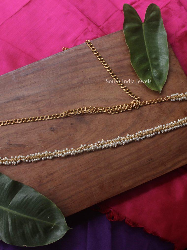 Beautiful Pearl Beads Hip Chain