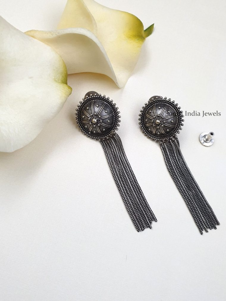 Beautiful Tassel Earrings (2)