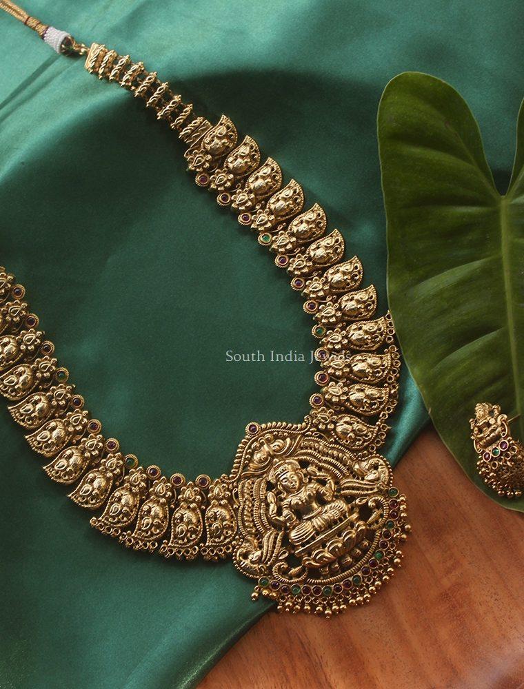 Bridal Lakshmi Ghungroo Haram (3)