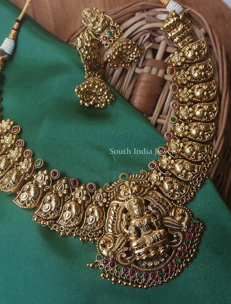 Bridal Lakshmi Ghungroo Necklace (2)