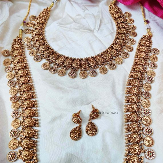 Bridal Lakshmi & Peacock Design Combo (3)