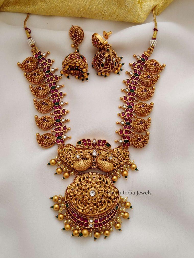 Classic Gunghroo Mango Design Necklace