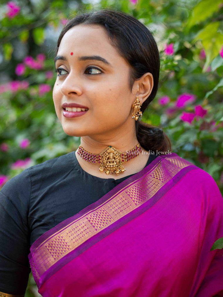 Classic Lakshmi Nagas Choker (2)