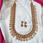 Classic Lakshmi & Peacock Design Haram