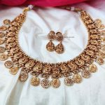 Classic Lakshmi & Peacock Design Necklace (3)