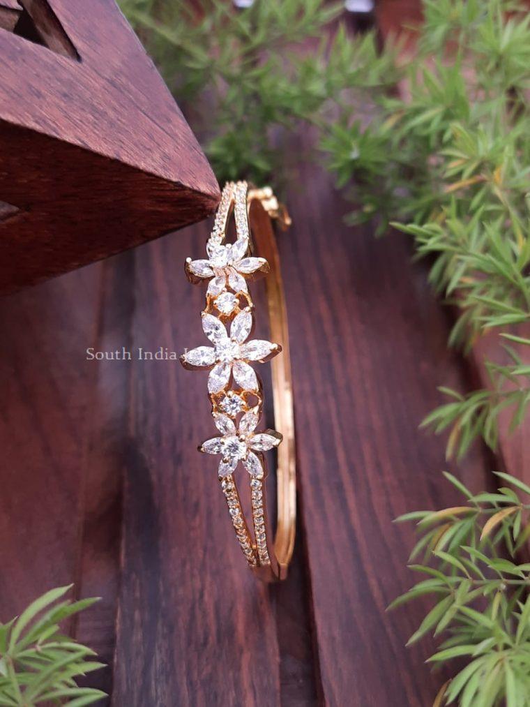 Cute CZ Stone Openable Bracelet
