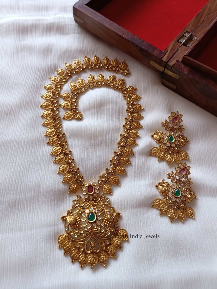 Elegant Lakshmi Coin Haram (2)