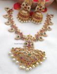 Elegant Mango Design Necklace (3)