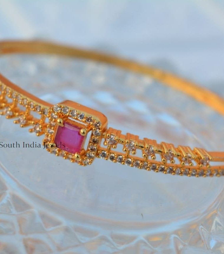 Elegant Oval Shape Bangle