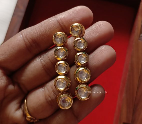 Fancy Kundan Layered Necklace