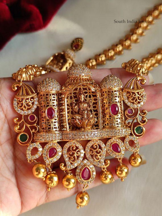 Gorgeous AD Stone Lakshmi Haram