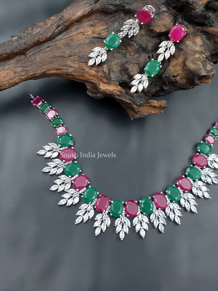 Gorgeous AD Stone Statement Necklace (8)