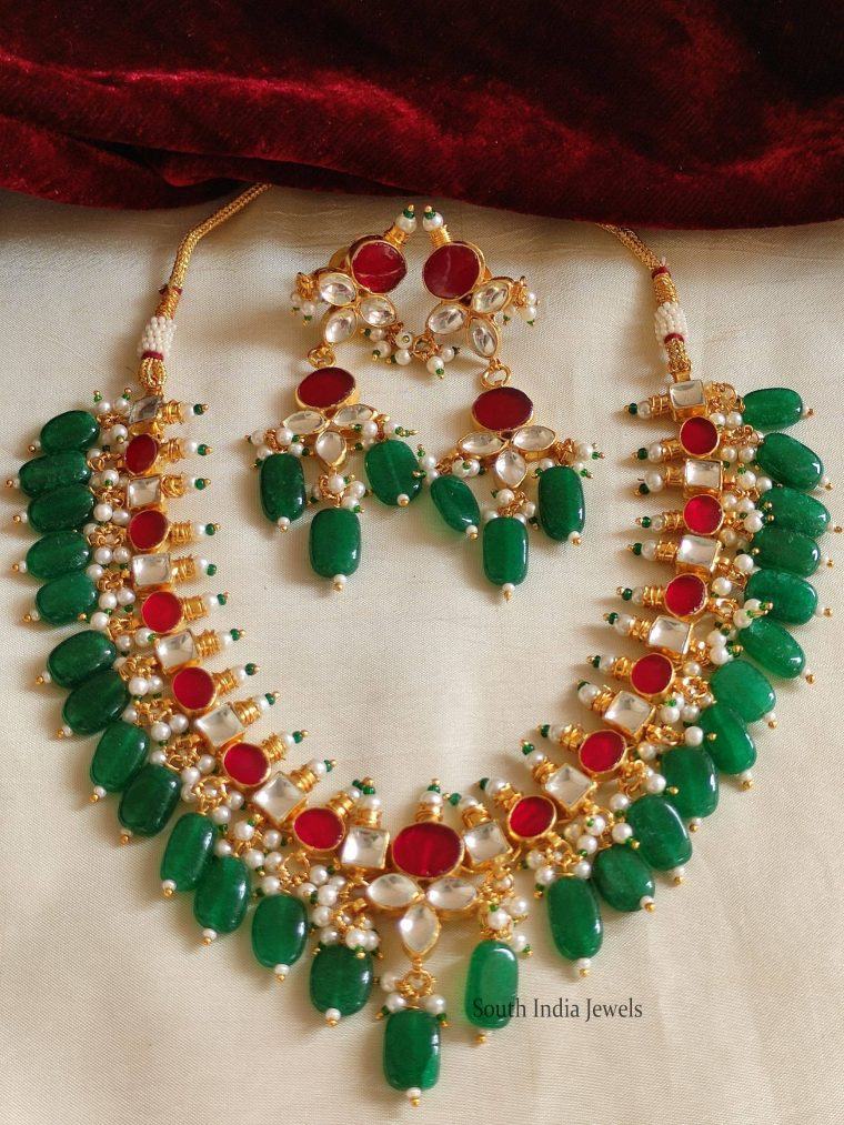 Gorgeous Jadau Kundan Necklace