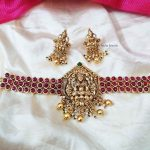 Gorgeous Lakshmi Design Bridal Choker (3)