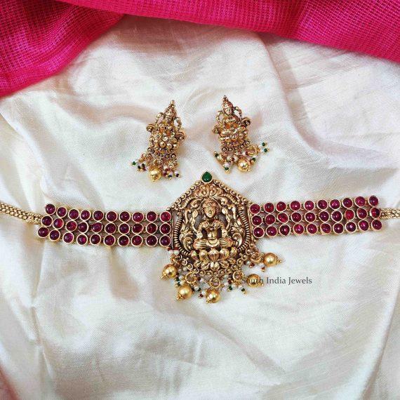 Gorgeous Lakshmi Design Bridal Choker