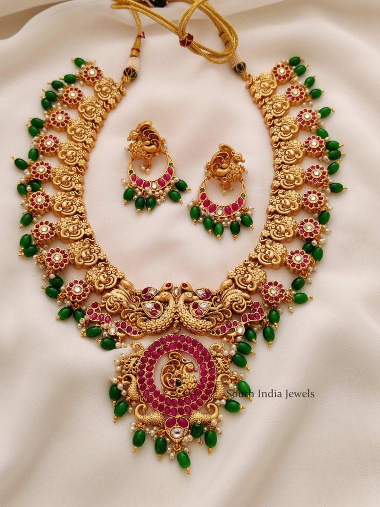 Gorgeous Peacock Design Haram (3)