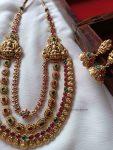 Grand Bridal Layered Lakshmi Haram (2)